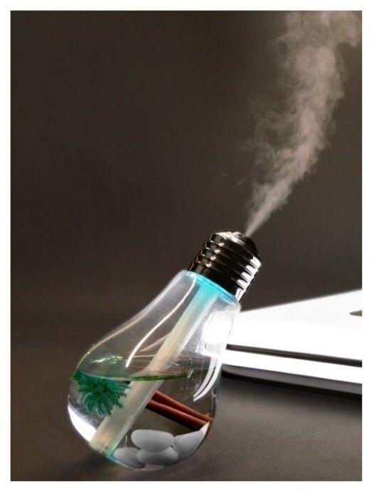 Купить Портативный увлажнитель воздуха - настольная лампа ночник ЛОН с RGB подсветкой по низкой цене с доставкой из Яндекс.Маркета - Классные подарки до 1000 руб