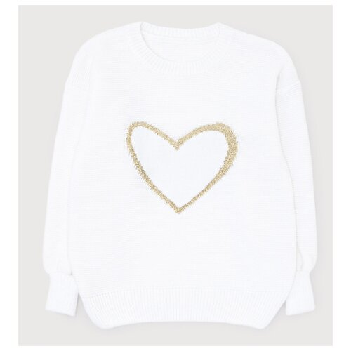 Купить Джемпер crockid размер 98-104, белый, Свитеры и кардиганы