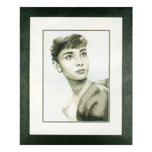 Набор для вышивания Audrey Hepburn LANARTE , 35014