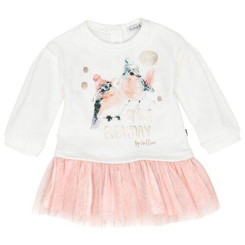 Платье Gulliver Baby размер 74, молочный