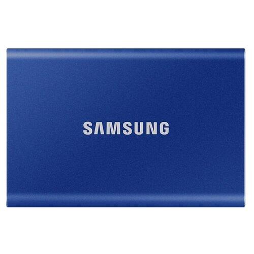 Внешний SSD Samsung Portable SSD T7 500 ГБ синий