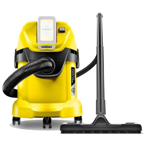 Профессиональный пылесос KARCHER WD 3 Battery 300 Вт желтый