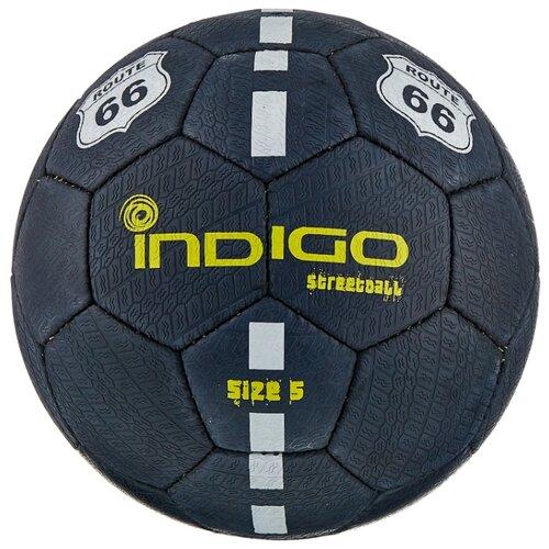 Футбольный мяч Indigo STREETBALL E03 черный 5