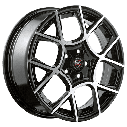Фото - Колесный диск NZ Wheels F-26 7x17/5x108 D63.3 ET55 BKF колесный диск nz wheels sh662 7x17 5x108 d63 3 et55 sf