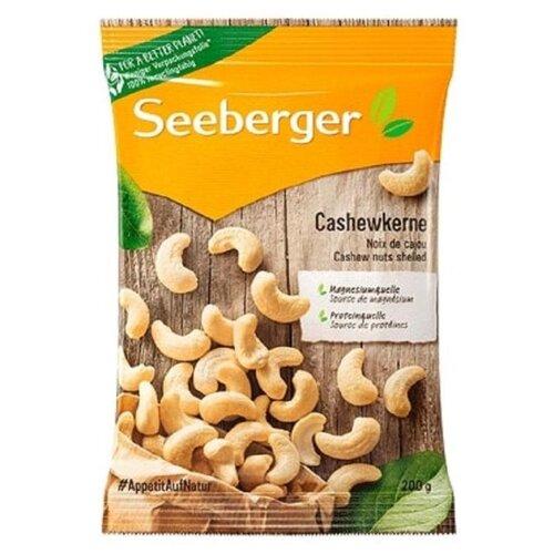 Кешью Seeberger отборные, флоу-пак, 200 г арахис bruto в оболочке креветка флоу пак 45 г