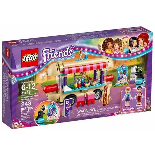Купить Конструктор LEGO Friends 41129 Киоск с хот-догами в парке развлечений, Конструкторы