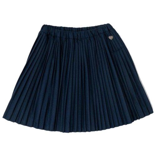 Купить Юбка Button Blue размер 134, синий, Юбки