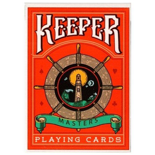 Карты для покера Ellusionist Keepers Red