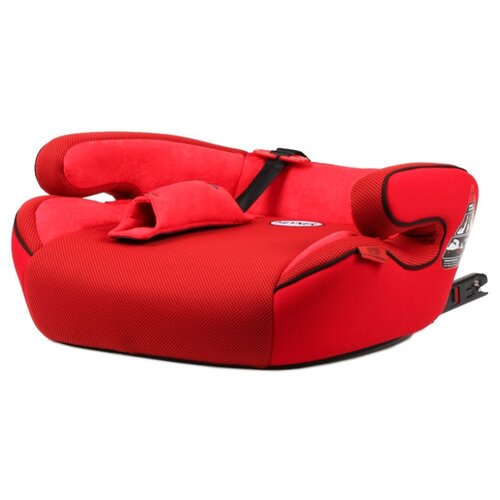 Фото - Бустер группа 3 (22-36 кг) Heyner SafeUp XL Fix, Racing Red автокресло бустер heyner safeup fix xl черный солнцезащитные шторки в подарок