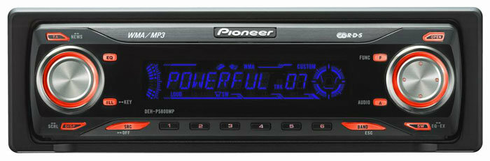 Автомагнитола Pioneer DEH-P5800MP