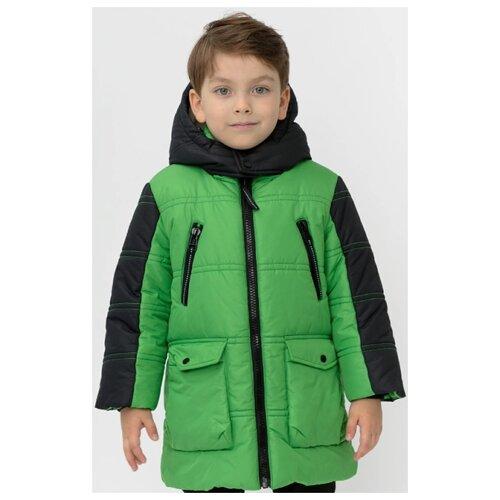 Купить Куртка Button Blue 220BBBMC45024800 размер 104, зеленый, Куртки и пуховики