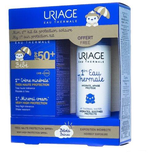 Uriage Первый минеральный крем SPF 50+ 50 мл + Первая Термальная вода 50 мл uriage 50 spf