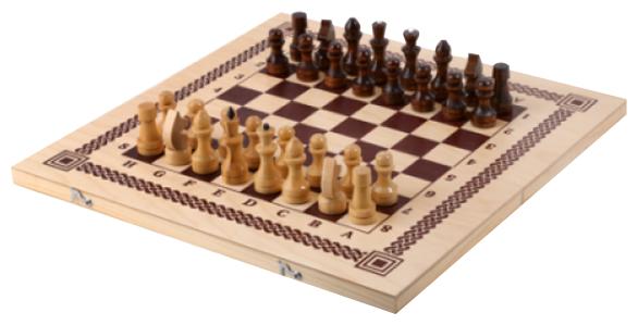 ОРЛОВСКАЯ ЛАДЬЯ 3 в 1 Нарды, шашки, шахматы B-7