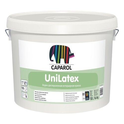 Краска латексная Caparol UniLatex влагостойкая матовая белый 10 л