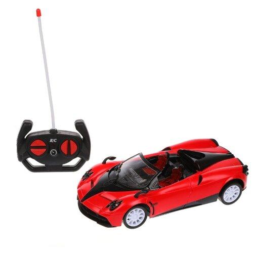 Купить Гоночная машина Наша игрушка YQ041-1A 1:14 27.5 см красный, Радиоуправляемые игрушки