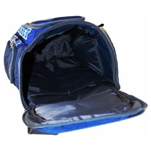 Рюкзак хоккейный BITEX 28-121 синий, хоккеист
