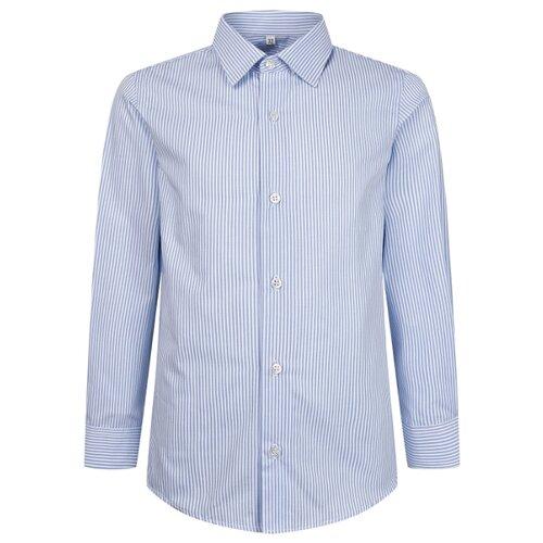 Купить Рубашка Malip размер 170, белый/голубой, Рубашки