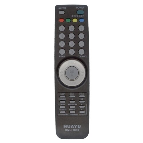 Фото - Пульт ДУ Huayu RM-L1069 для телевизоров LG черный пульт ду huayu rm 836c для для телевизоров philips rc1205b 30063555 rc0770 rc19036002 rc19036001 rc19042001 серый