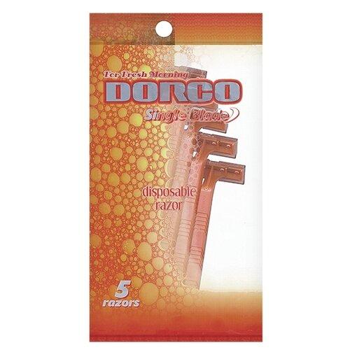 Фото - Бритвенный станок Dorco SD503 ,оранжевый, 5 шт. бритвенный станок dorco tr a200