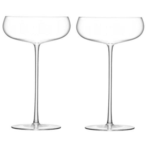 LSA Набор бокалов Wine Culture Champagne Saucer 2 шт. 320 мл бесцветный