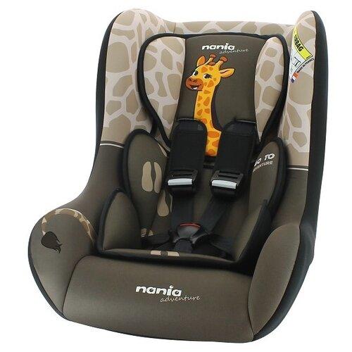 Автокресло группа 0/1/2 (до 25 кг) Nania Trio SP Comfort Animals, girafe автокресло группа 1 2 3 9 36 кг little car ally с перфорацией черный