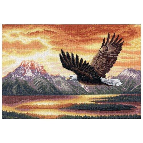 Купить Dimensions Набор для вышивания Безмолвный полет 41 х 28 см (35165), Наборы для вышивания