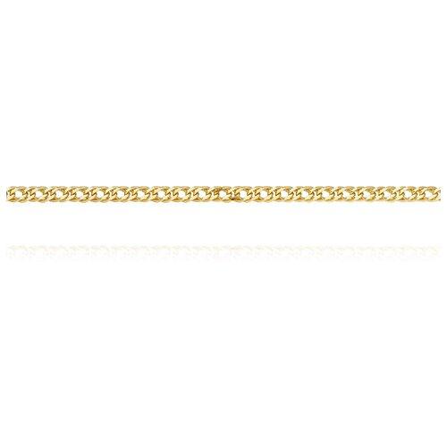 АДАМАС Цепь из желтого золота плетения Ромб двойной ЦР240А2-А53, 55 см, 5.19 г