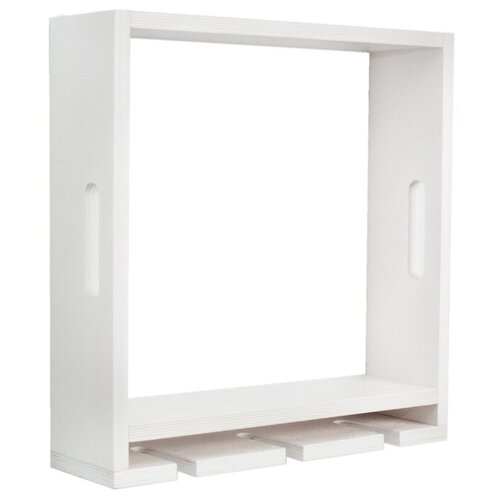 Полка для кухни Том Полкер Ящик Шато 39х11 см , белый