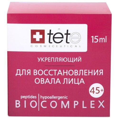 Комплекс TETe Cosmeceutical для восстановления овала лица (коррекция гравитационного птоза) для лица 45+, 15 мл комплект ковриков tete a tete tete a tete mp002xu02nsy