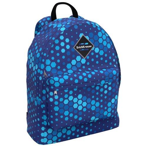 Купить ErichKrause рюкзак EasyLine Blue Camo, синий, Рюкзаки, ранцы