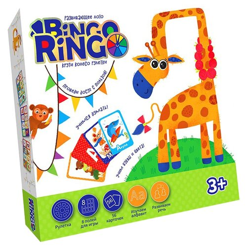 Купить Настольная игра Danko Toys Bingo Ringo, Настольные игры