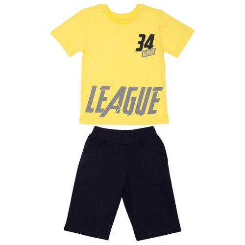 Комплект одежды ALENA размер 128-134, желтый комплект одежды looklie размер 128 134 розовый
