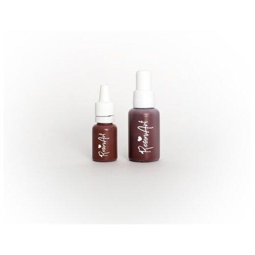 Купить Краситель для эпоксидной смолы ResinArt, коричневый, 10 мл, Вспомогательные жидкости