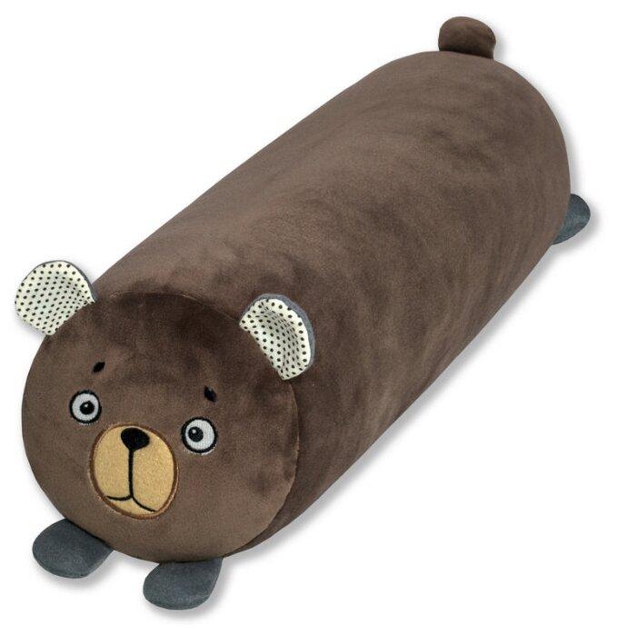 """Купить Антистрессовый валик Штучки, к которым тянутся ручки """"Зверики"""" медведь по низкой цене с доставкой из Яндекс.Маркета"""