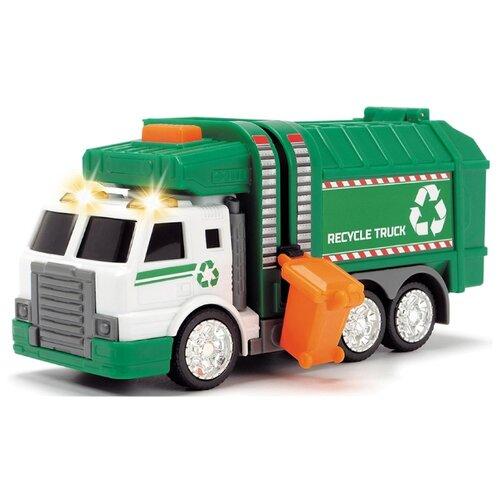 Купить Мусоровоз Dickie Toys 3302018 15 см зеленый, Машинки и техника