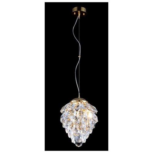 Светильник Crystal Lux Charme SP1+1 Led Gold/Transparent, G9, 42 Вт