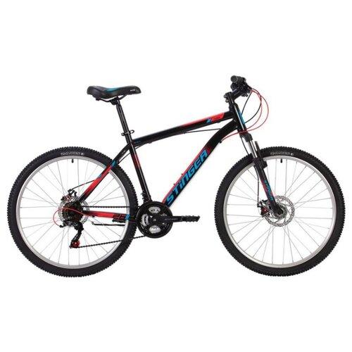 цена на Горный (MTB) велосипед Stinger Caiman D 26 (2020) черный 18 (требует финальной сборки)
