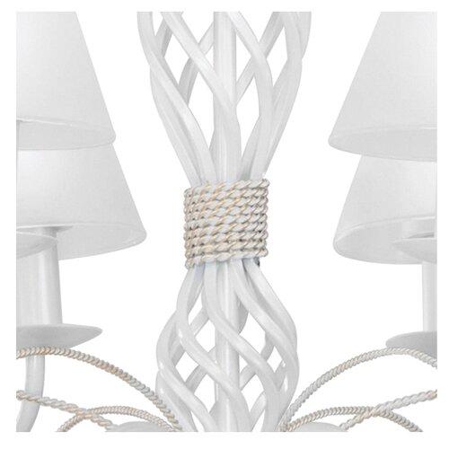 люстра lightstar esedra 796153 Люстра Lightstar ESEDRA 782060, E14, 240 Вт, кол-во ламп: 6 шт., цвет арматуры: белый, цвет плафона: белый