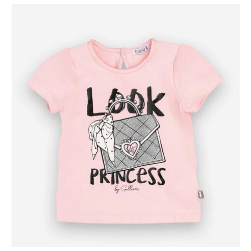 Купить Футболка Gulliver Baby, размер 86, розовый, Футболки и рубашки