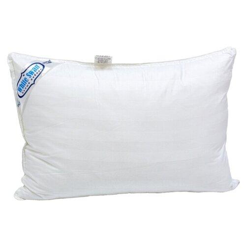 цена Подушка Фабрика снов Белый лебедь 50 х 70 см белый онлайн в 2017 году