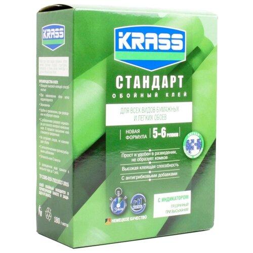 клей для обоев pufas gt vlies direkt 0 325 кг Клей для обоев Krass Стандарт 0.18 кг