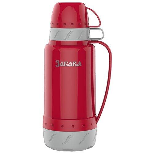 Классический термос Забава РК-1802, 1.8 л красный/серый