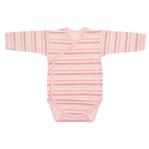 Купить Боди Чудесные одежки размер 68, светло-розовый