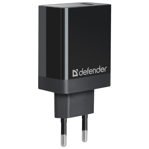 Сетевая зарядка Defender UPA-101 черный