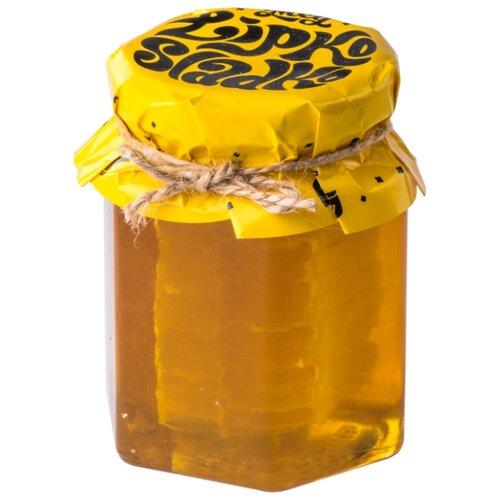 Мед в сотах LipkoSladko натуральный 250 г