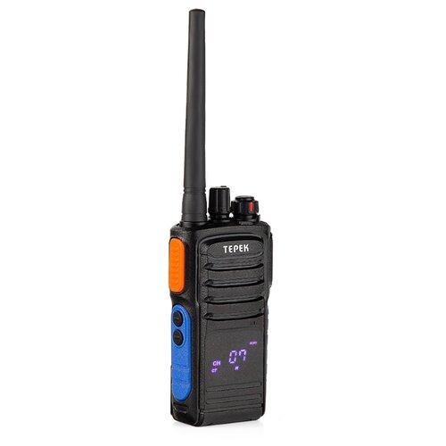 Рация ТЕРЕК РК-202 V черный мобильная рация терек рм 302 uhf