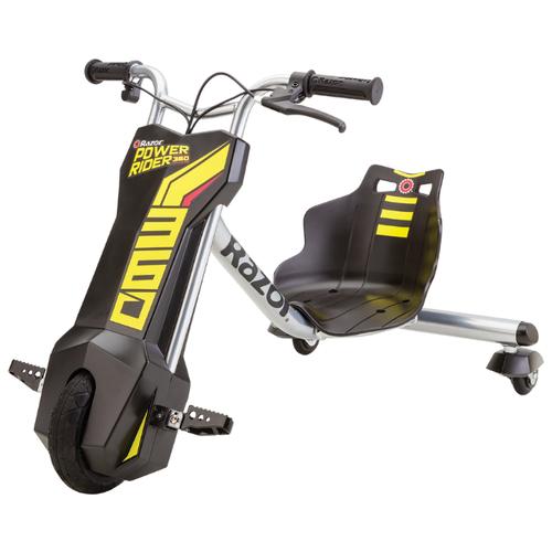 Razor Трицикл PowerRider 360 черный/желтый