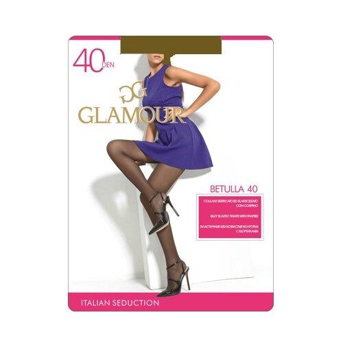 Колготки Glamour Betulla 40 den, размер 2-S, bronzo (коричневый) колготки glamour betulla 40 den размер 5 xl daino коричневый
