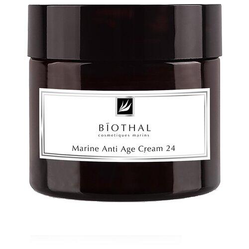 Купить Крем BIOTHAL Marine Anti-Age cream морской эффект 24 антивозрастной для лица, 50 мл