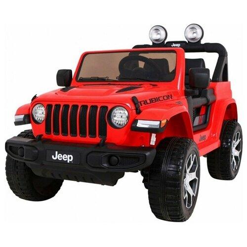 Купить Toyland Автомобиль Jeep Rubicon DK-JWR555, красный, Электромобили